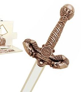 Miniature American Liberty Sword (Bronze) by Marto of Toledo Spain