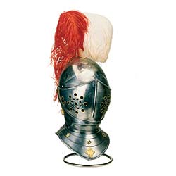 Spanish Horse Helmet of the 16th century by Marto of Toledo Spain