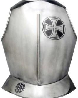 Templar Knight Armor Breastplate by Marto of Toledo Spain (Templar Cross)