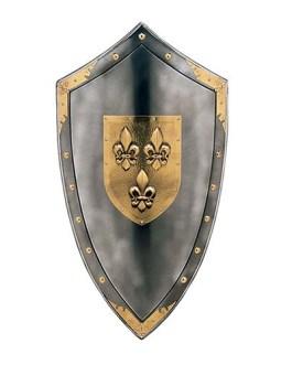 Duchy of Anjou Shield of Fleur de Lys by Marto of Toledo Spain