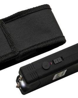 4′ KWIK FORCE BASIC BLACK STUN GUN W/ BUILT IN CHARGER