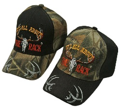 """""""ALL ABOUT THE RACK"""" CAP"""