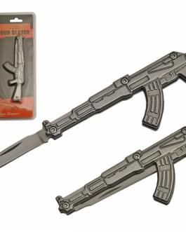 3″ 6 PIECE GUN POCKETKNIFE KEYCHAIN DISPLAY