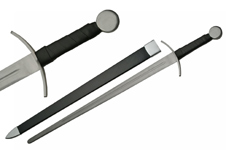 40″ CURVED GUARD MEDIEVAL SWORD