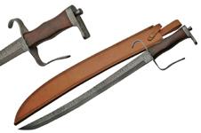 28″ DAMASCUS PIRATE SWORD