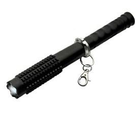 12″ KWIK FORCE MINI BATON w/ STUN GUN / FLASHLIGHT