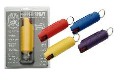 HARD SHELL 1/2 OZ ASSORTED COLORS PEPPER SPRAY