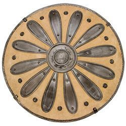 Conan the Barbarian Leather Round Shield by Marto of Toledo Spain – Official Licensed Reproduction