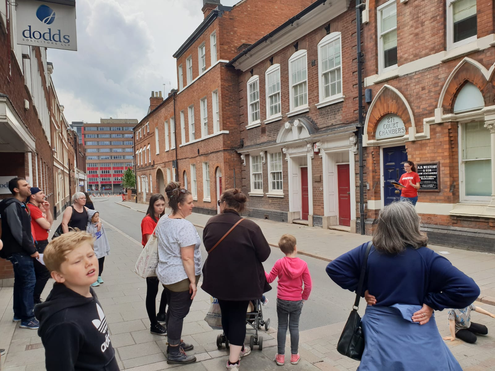 Leicester Greyfriars Townscape Heritage Initiative Events