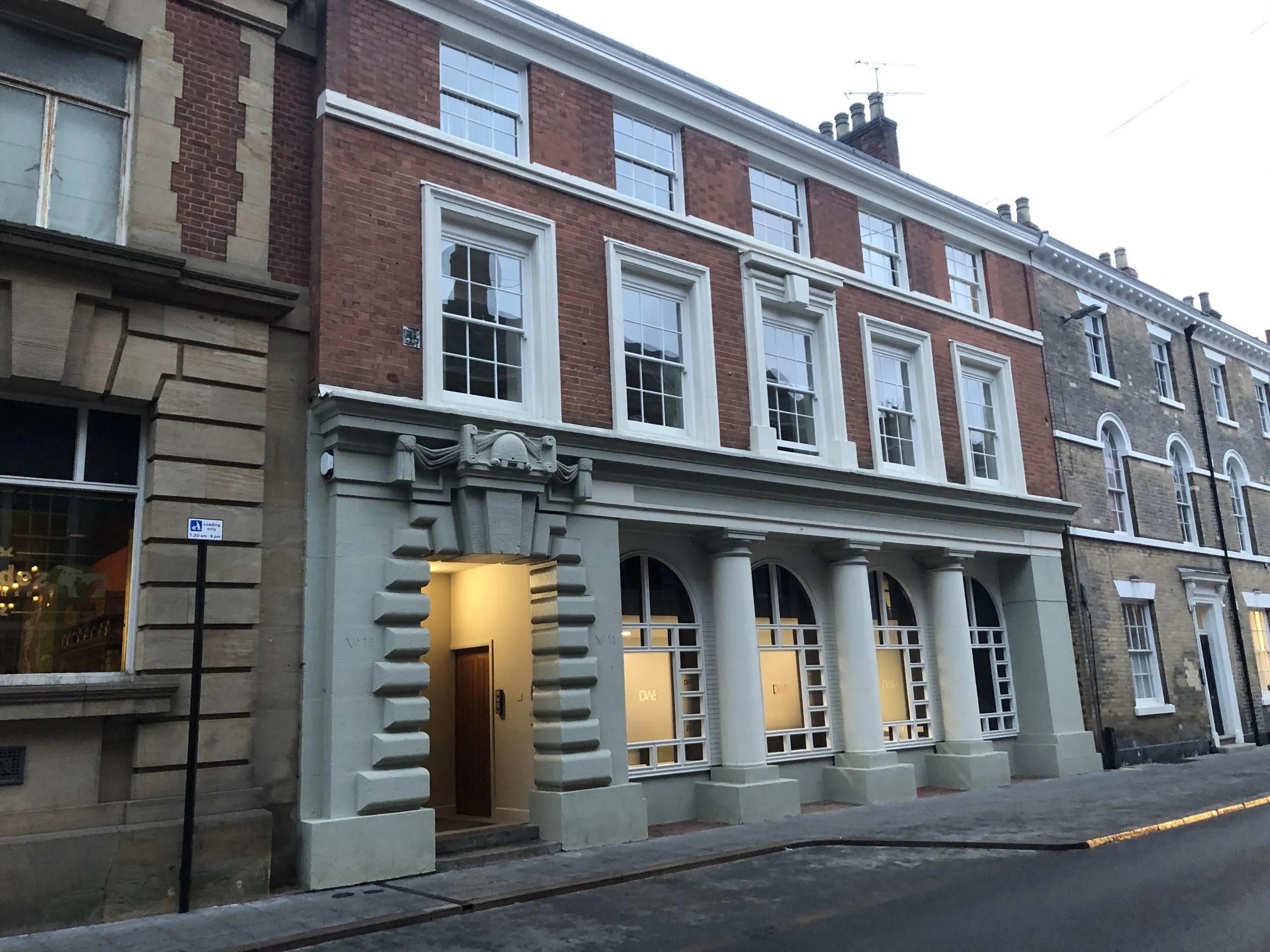 Leicester Greyfriars Heritage Initiative - Restoration - 14-28 Friar Lane