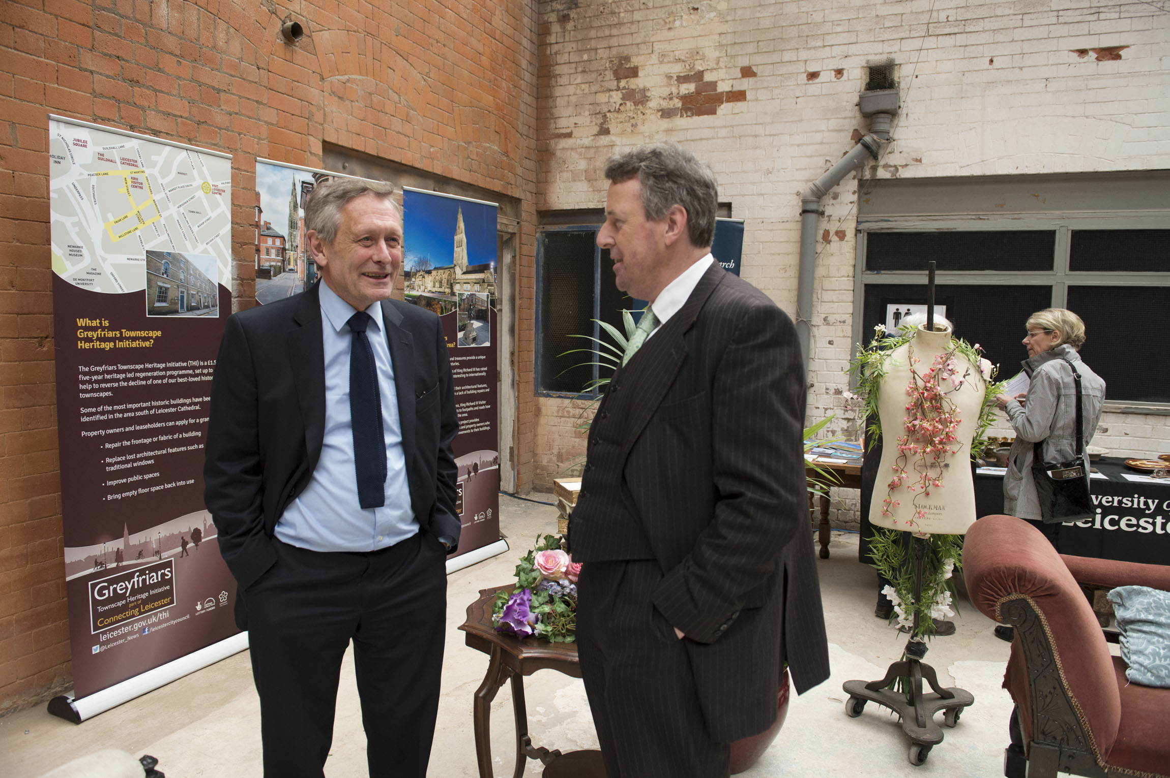 The Leicester Greyfriars Launch Event