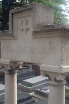Maupassant's grave