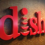 dish channel letter sign