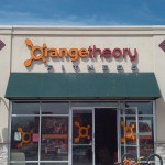 Orange theory fitness channel letter sign