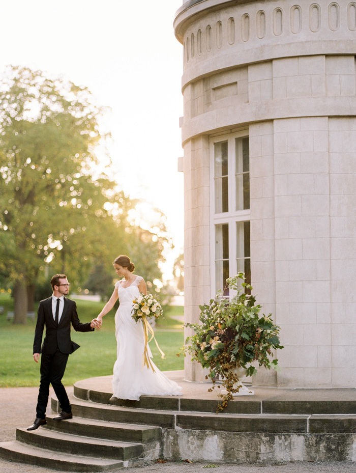 Dundurn Castle Yellow Romance  Best Wedding Blog