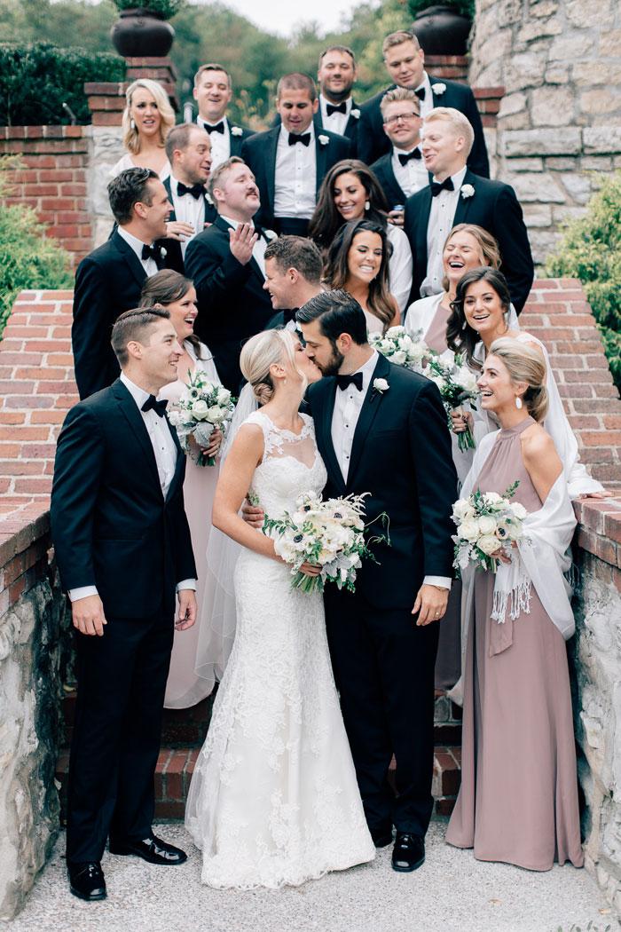 Melissa and Erics Classic Wedding in Saint Louis