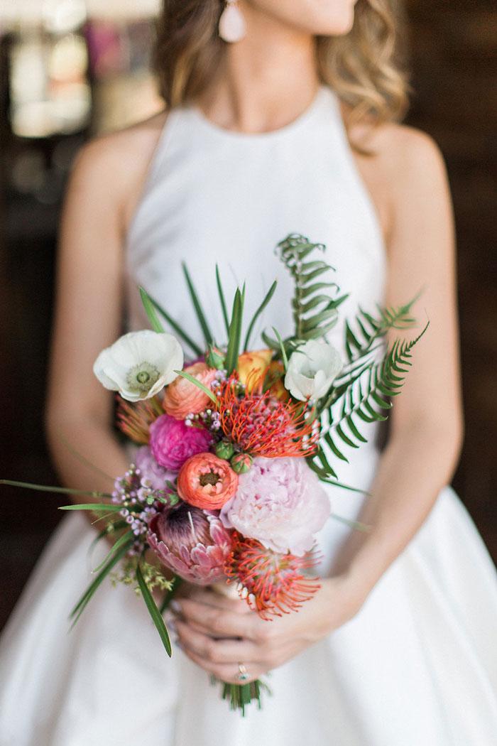 Palm Beach Tropical Inspiration Shoot  Best Wedding Blog