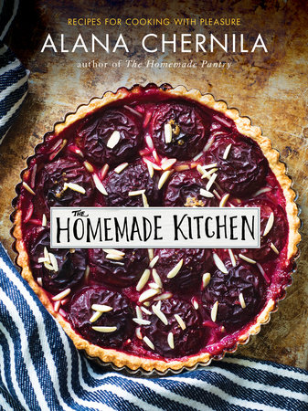 """""""The Homemade Kitchen: Recipes for Cooking with Pleasure"""" is available a local bookstores and from Amazon.com"""