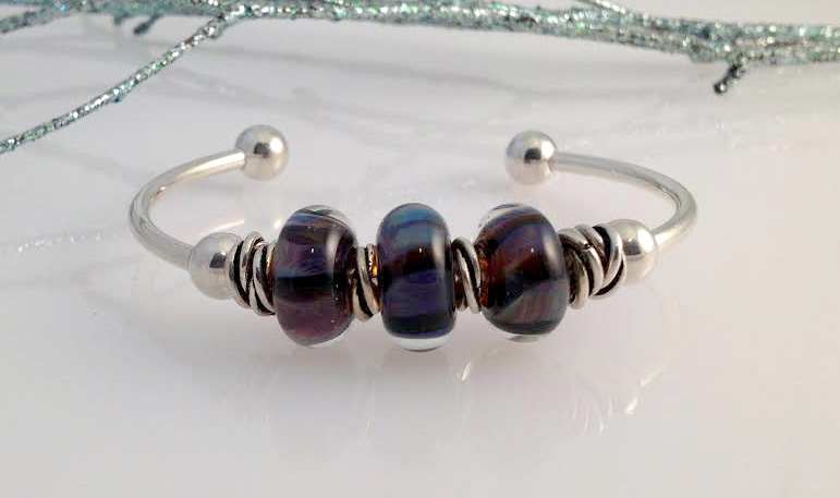 """Heart of the Berkshires"" bracelet, by Jill Reynolds"