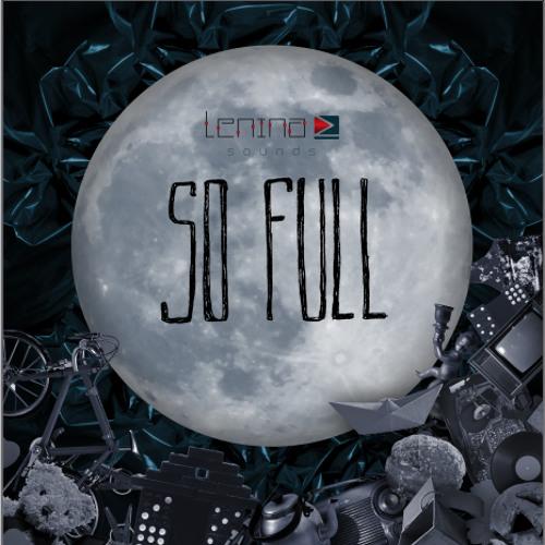 "Cover art for Lenina Z's 2015 track ""So Full,"" recorded entirely in her home studio."