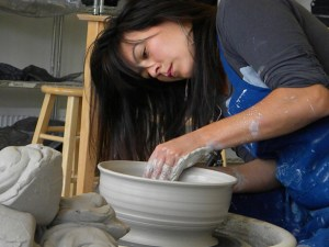 Amrita Lash will open her studios November 28–29; photo submitted by the artist.