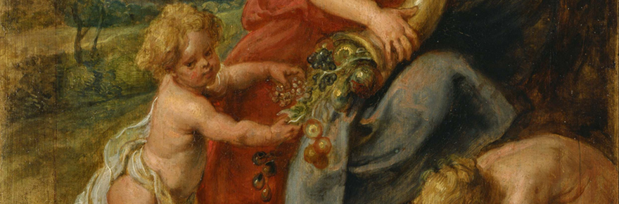 """Abundantia,"" by Peter Paul Rubens; public domain."