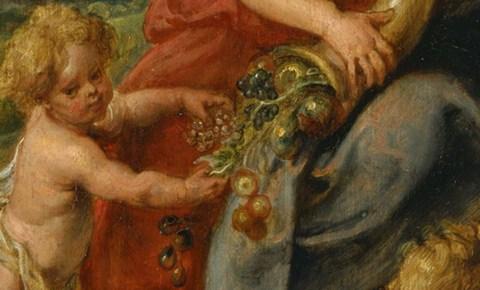 """""""Abundantia,"""" by Peter Paul Rubens; public domain."""