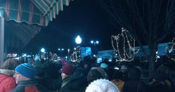 """North Adams is expected to turn out in force again for another internationally celebrated """"Unsilent Night;"""" photo courtesy of MCLA Berkshire Cultural Resource Center."""