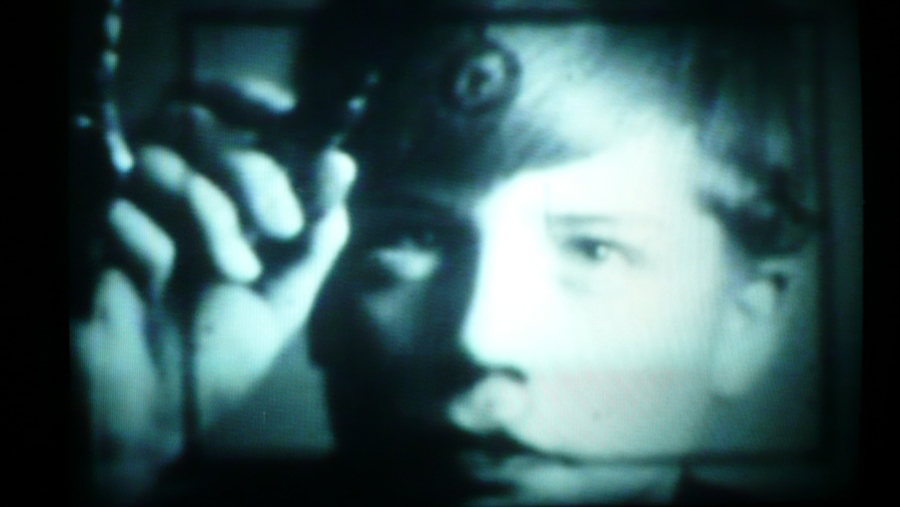 "Early research into brain function and the tracking of eye movements. Connection to Google ""Glass,"" perhaps? Photo, ""Eye Tracking Thru Glass,"" by Hans Werner <a href=""//en.wikipedia.org/wiki/User:Hans-Werner34"" class=""extiw"" title=""en:User:Hans-Werner34"" srcset="