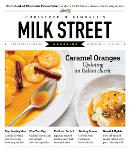 Christopher Kimball's Milk Street Magazine proves to offer a distinctive mood and reader experience, but with the thoughtfulness and expertise both home and professional cooks have come to expect.