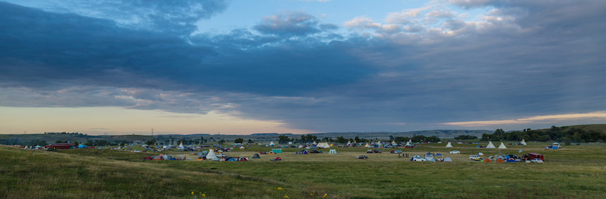 Dakota Access Pipeline protest at the Sacred Stone Camp near Cannon Ball, North Dakota (photo by Tony Webster; Taken on August 25, 2016; ShareAlike 2.0 Generic (CC BY-SA 2.0)