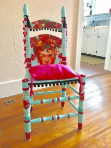CHAIR-ity work by Betsy Gorman