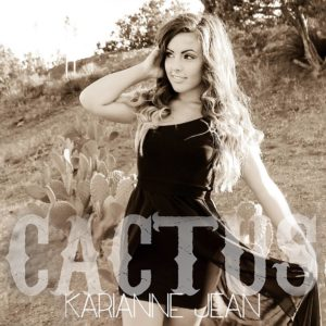 "Karianne Jean Perpoli, with her single ""Cactus"""