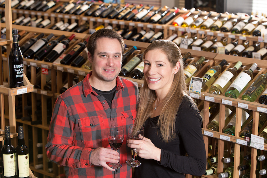Jonathan and Tracy Baker, owner of the Spirit Shop, Williamstown; photo courtesy the Bakers, via http://spiritshopinc.com/.