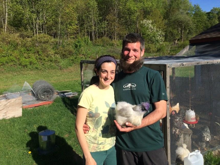 Kristen Tool and Christopher Wheeler of Olsen Farm in Lanesborough, Mass.; photo by Jason Velázquez