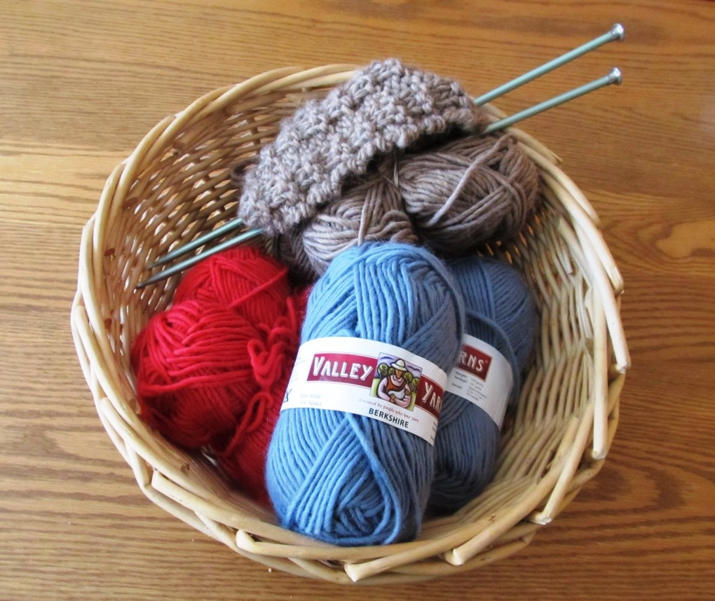 Basket of Yarn; photo by Sheila Velazquez.