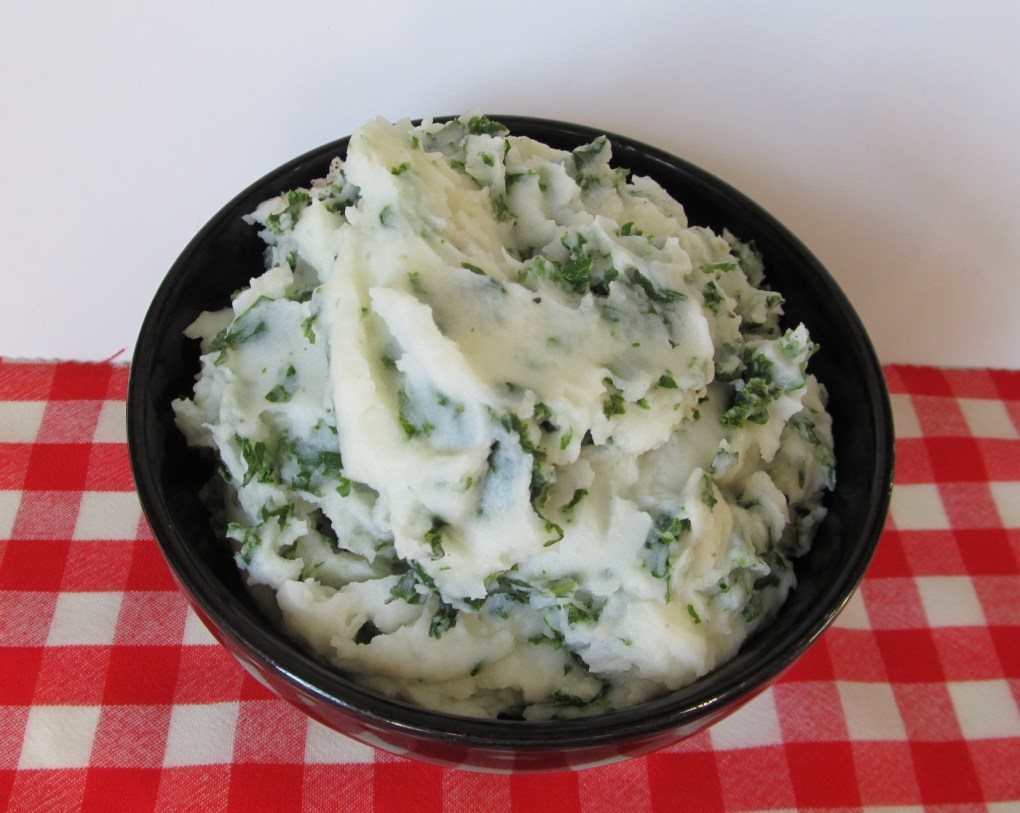 A super-nutritious (and satisfying!) staple of rustic Irish Cooking, colcannon can be prepared in a multitude of ways; photo by Sheila Velazquez.