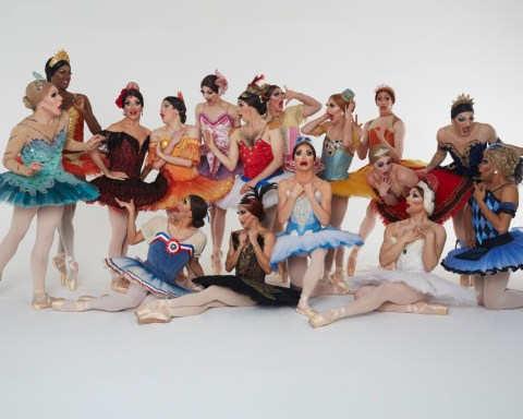 Les Ballets Trockadero de Monte Carlo have been around for 45 years and performed in over 600 cities and towns, Kinda makes them a thing², right? image courtesy the company.