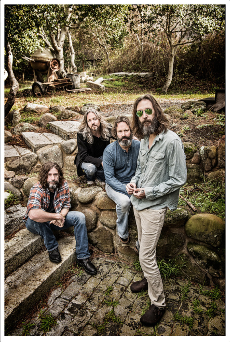Photo of featured musicians: The Chris Robinson Brotherhood just dropped their sixth studio album June 14, 2019; photo by Jay Blakesberg.