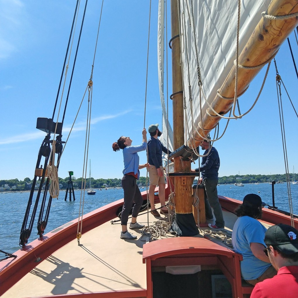 A ride on the Fame, a full-size replica of a privateer ship, is one of the most laid-back ways to spend a couple of hours on a weekend afternoon, photo by Floren Garcia.