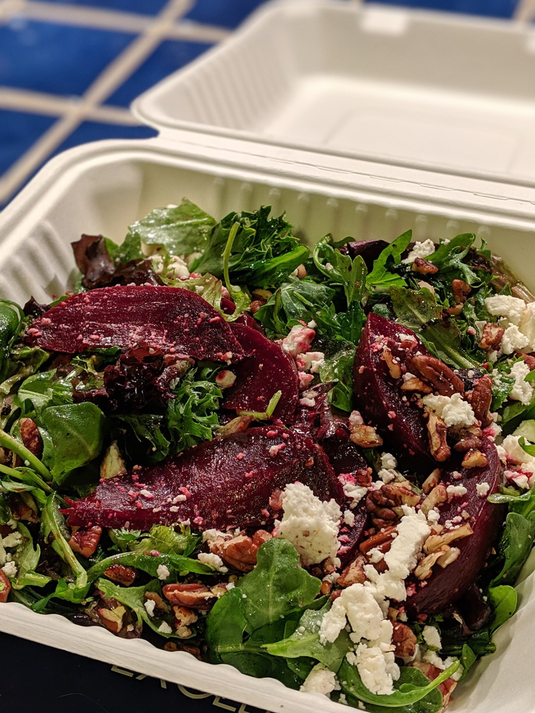 Generous portions of hearty, healthy food will likely attract a loyal following; photo by Robin Catalano.