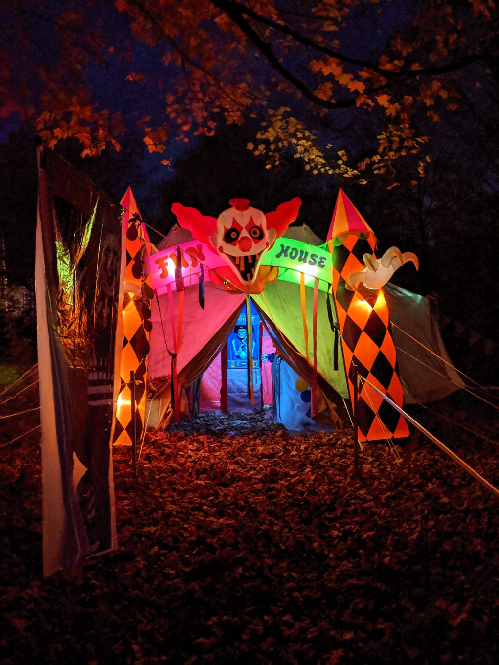 The Haunt Halloween Trail; photo by Robin Catalano.