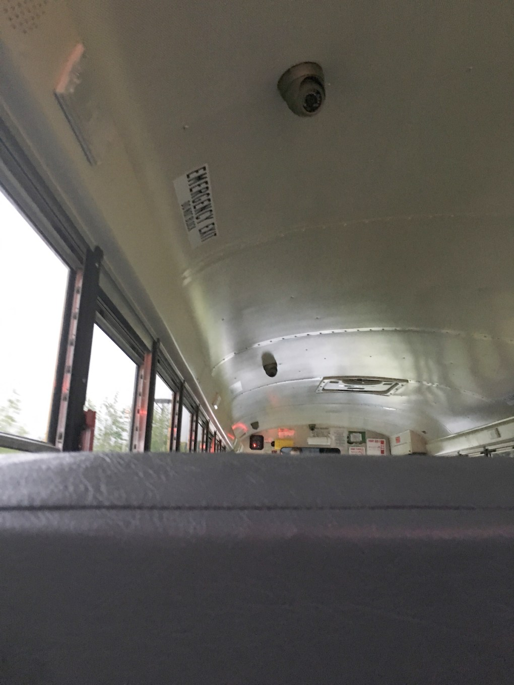 At least four surveillance cameras have been installed in each of the buses that serve Mount Greylock Regional School District. The placement cameras, which are capable of audio recording also, allow the system operator to view all students from various angles.