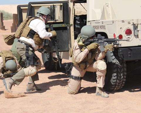 BORTAC Training in El Paso; public domain image.