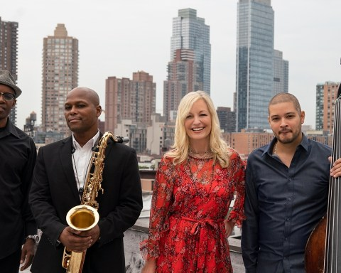 Band Photo: Lisa Hilton's latest release, Chalkboard Destiny, temps an ethereal musical fate, weaving in the talents of top-shelf collaborators JD Allen on tenor sax, Rudy Royston on drums, and Luques Curtis on bass; photo by Ryan Nava.