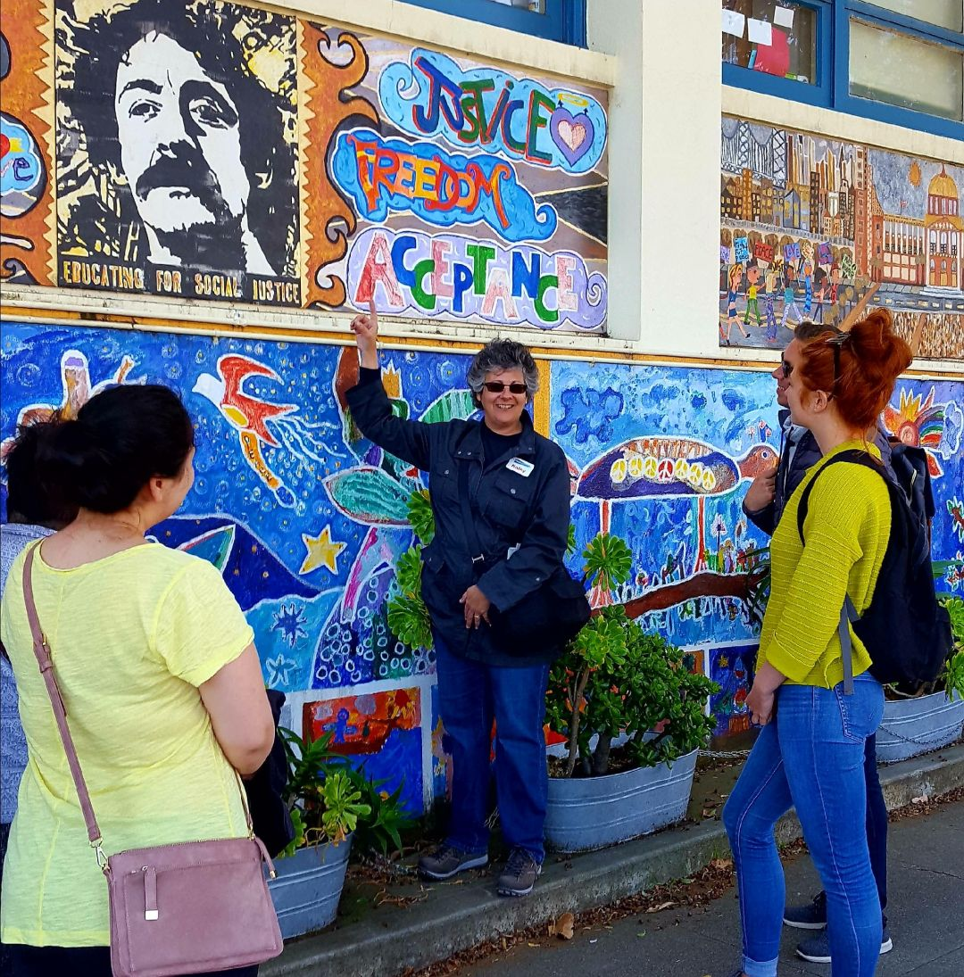 Walking tour in the Castro District, San Francisco; photo courtesy GetYourGuide.