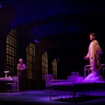 (Left to right) Reed Birney and Ephraim Birney as Dr. Phillip Cotton Chester Bailey in Joseph Dougherty's Chester Bailey, directed by Ron Lagomarsino, playing at Barrington Stage Company June 18 through July 3l photo by David Dashiell.