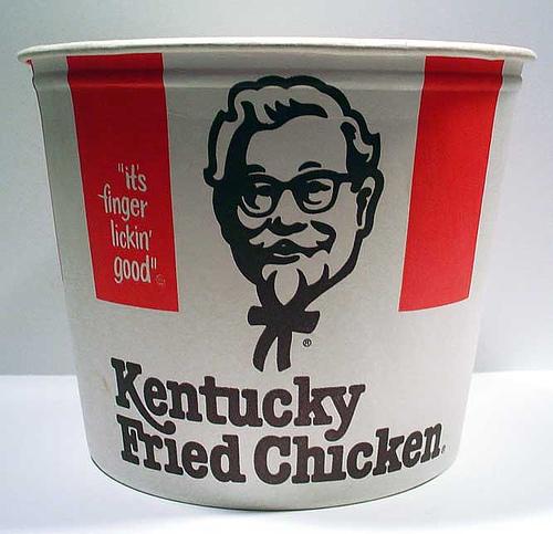 Kentucky Fried Chicken bucket 1978