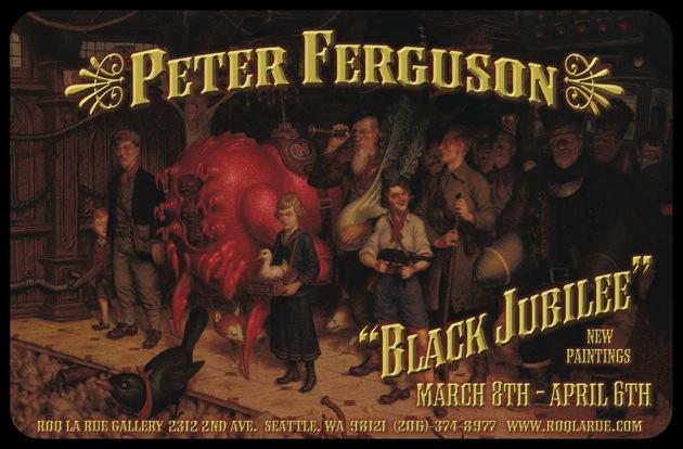 Peter Ferguson - Black Jubilee - Roq la Rue