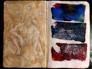 ian rogers sketchbook 5-day challenge 12